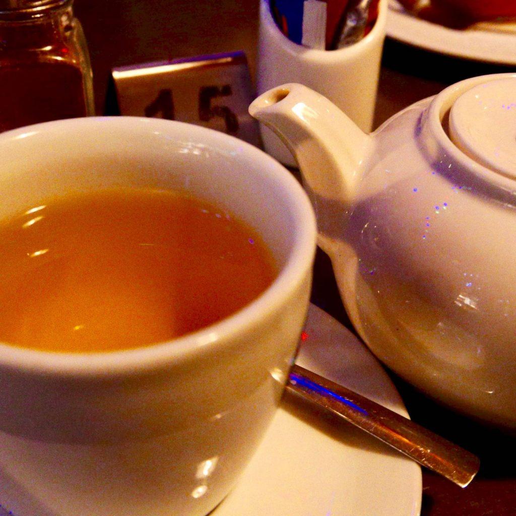 Portobello Garden Caffe' お茶