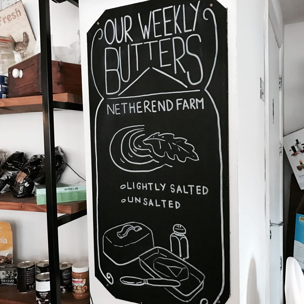 bread and butter バター