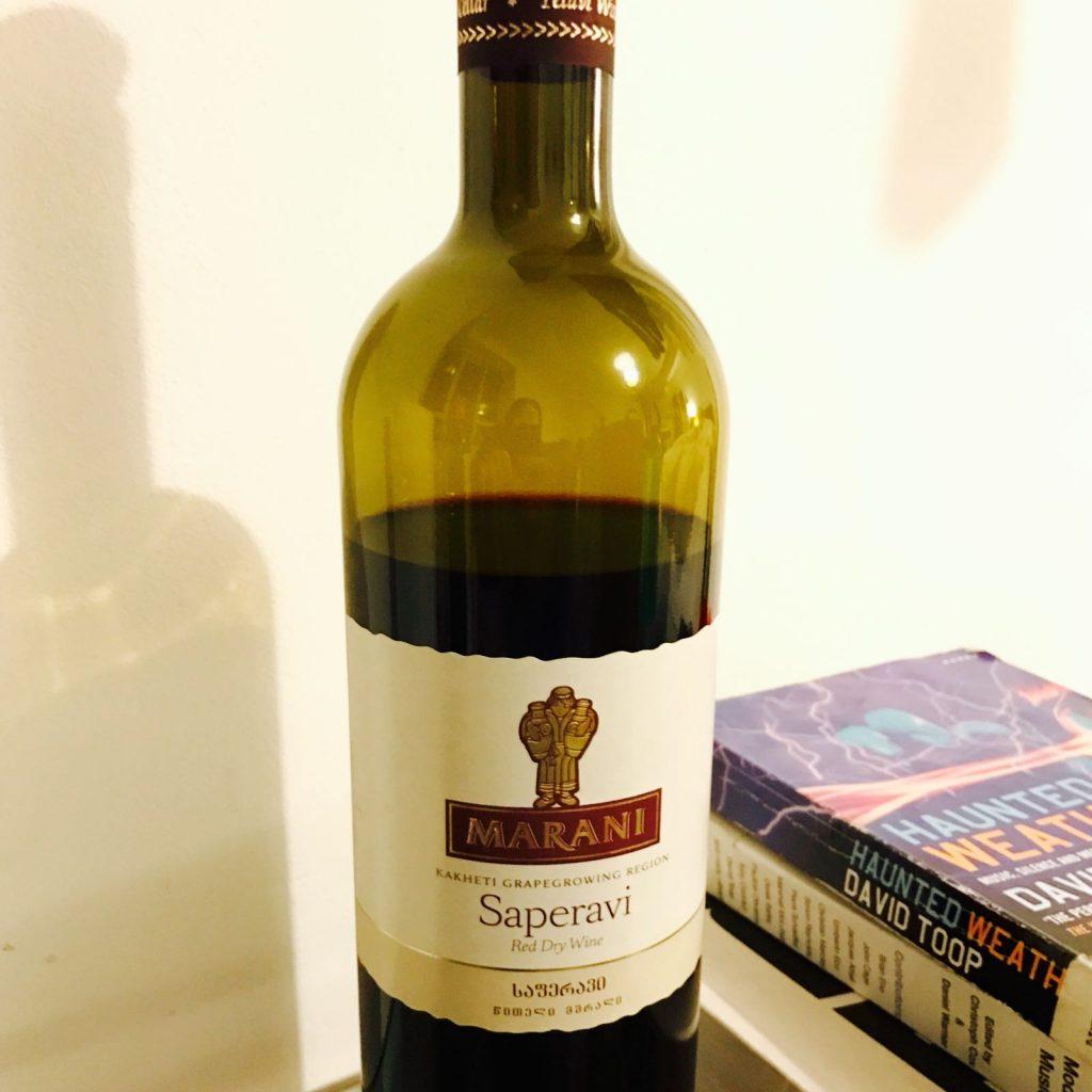 Iberia Georgian Restaurant 赤ワイン ボトル